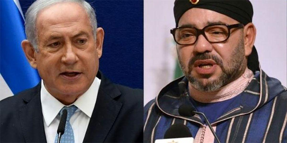 دعوت نتانیاهو از پادشاه مراکش برای سفر به اراضی اشغالی