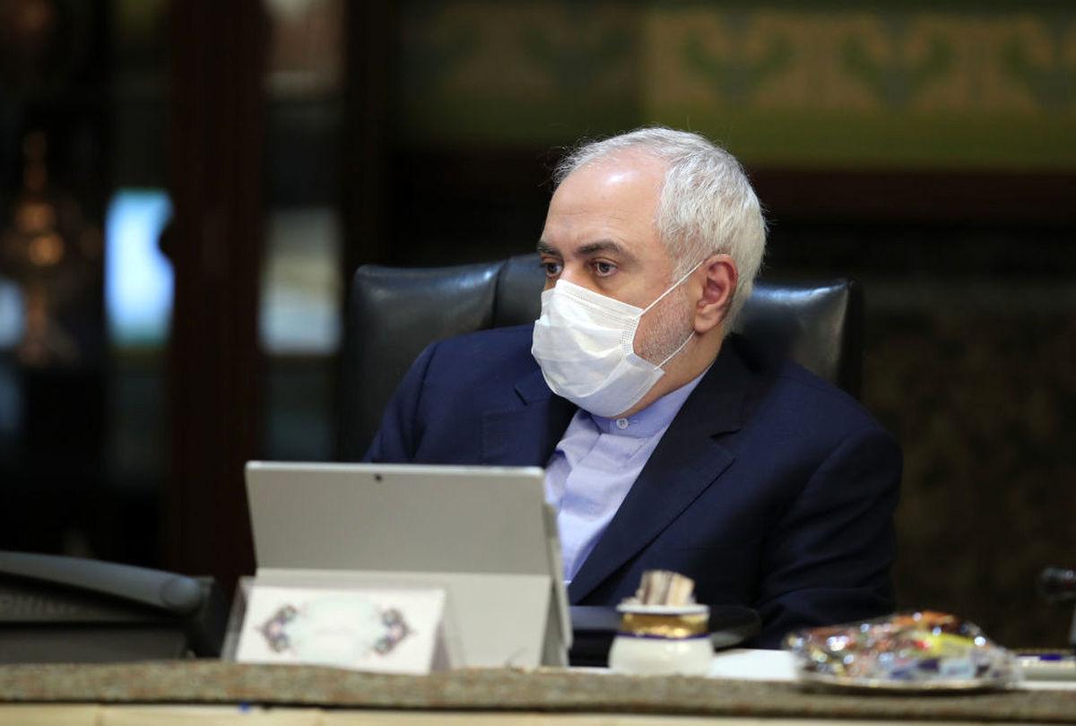 ظریف: اجرای پروتکل الحاقی را متوقف کردیم
