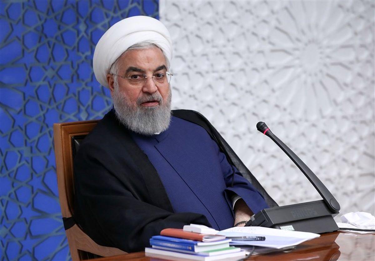 قدردانی رئیس جمهور از حضور باشکوه مردم در مراسم ۲۲ بهمن