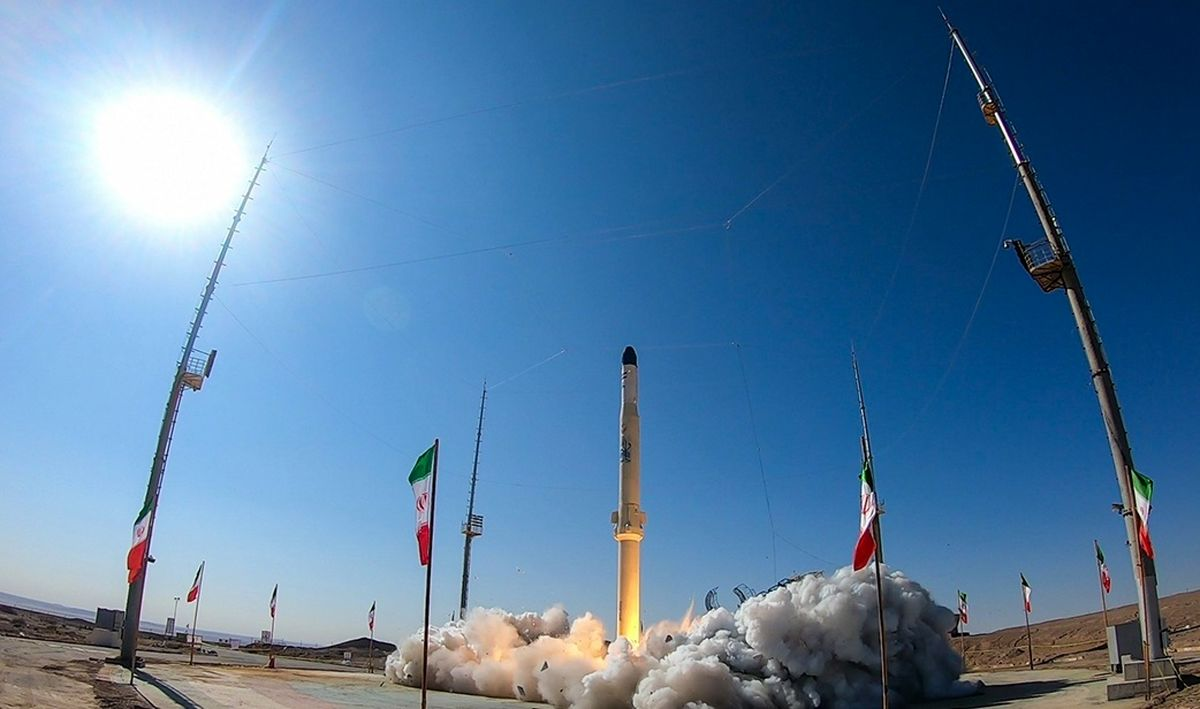تصاویر پرتاب تحقیقاتی ماهواره بَر ذوالجناح