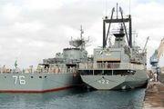 ماموریت سی و دومین ناوگروه نیروی دریایی ارتش در آبهای آزاد  پایان یافت