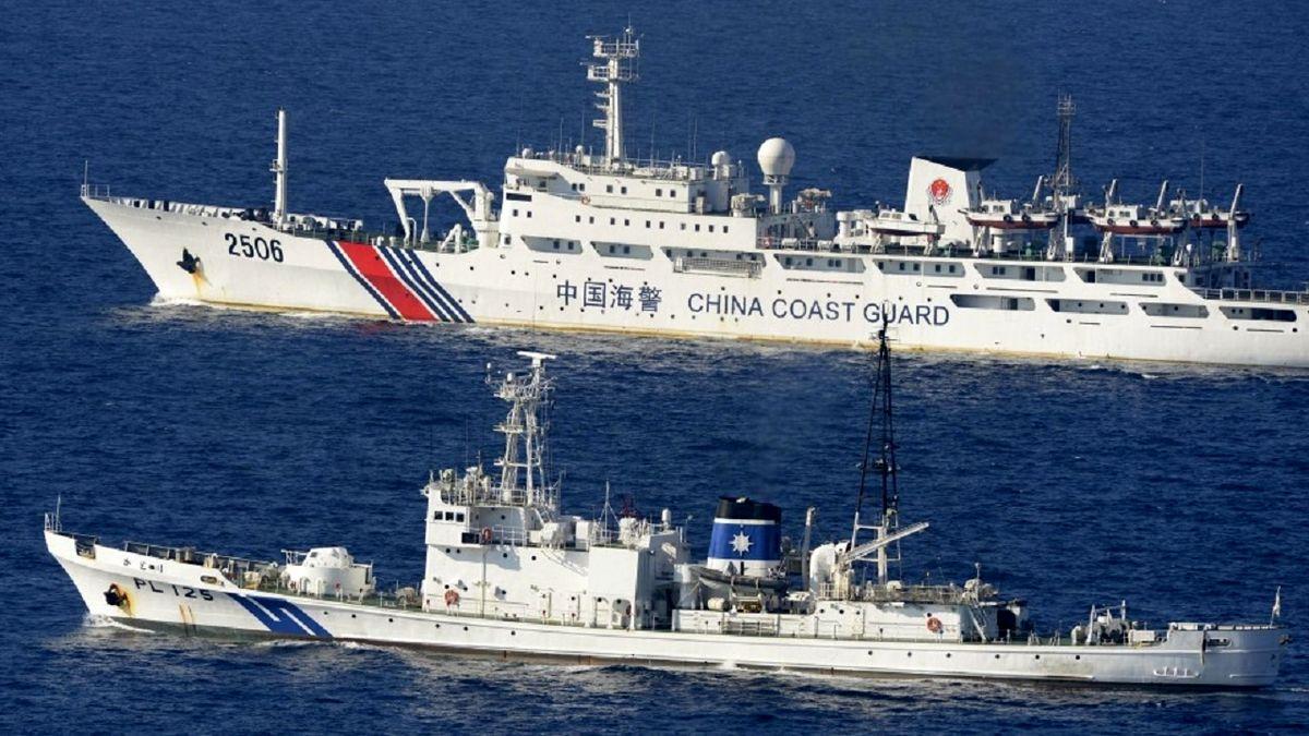 اعتراض توکیو به حضور کشتیهای چینی در آبهای ساحلی ژاپن