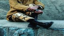 طبل بزرگ تغییر زیر پای سربازان