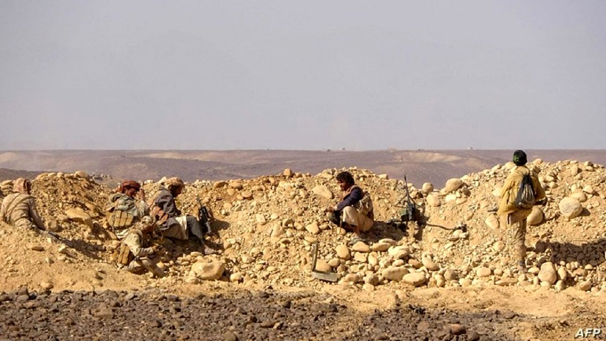 پیشروی نیروهای یمنی در جبهه مأرب