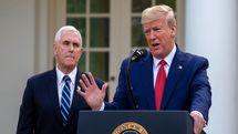 خودداری پنس از شرکت در همایشی با حضور ترامپ