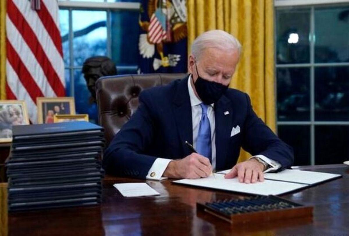 جو بایدن روسیه را تحریم می کند