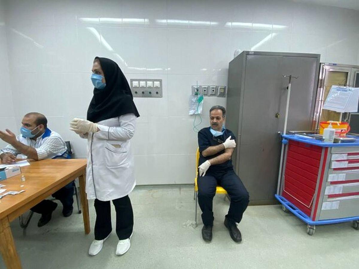 فاز دوم واکسیناسیون کادر درمان علیه کووید ۱۹ آغاز شد
