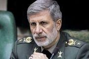 واکنش وزیر دفاع به اظهارات پمپئو علیه ایران