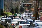 هجوم مسافران به مازندران/ ترافیک کندوان سنگین است