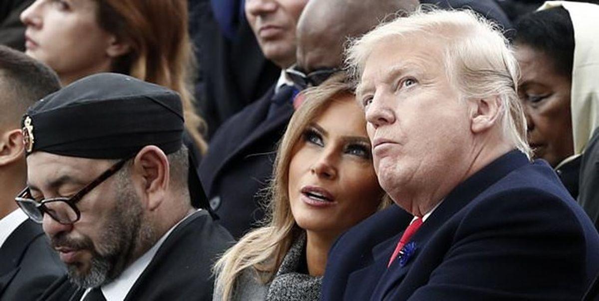ترامپ بابت سازش با تلآویو، به شاه مغرب مدال داد