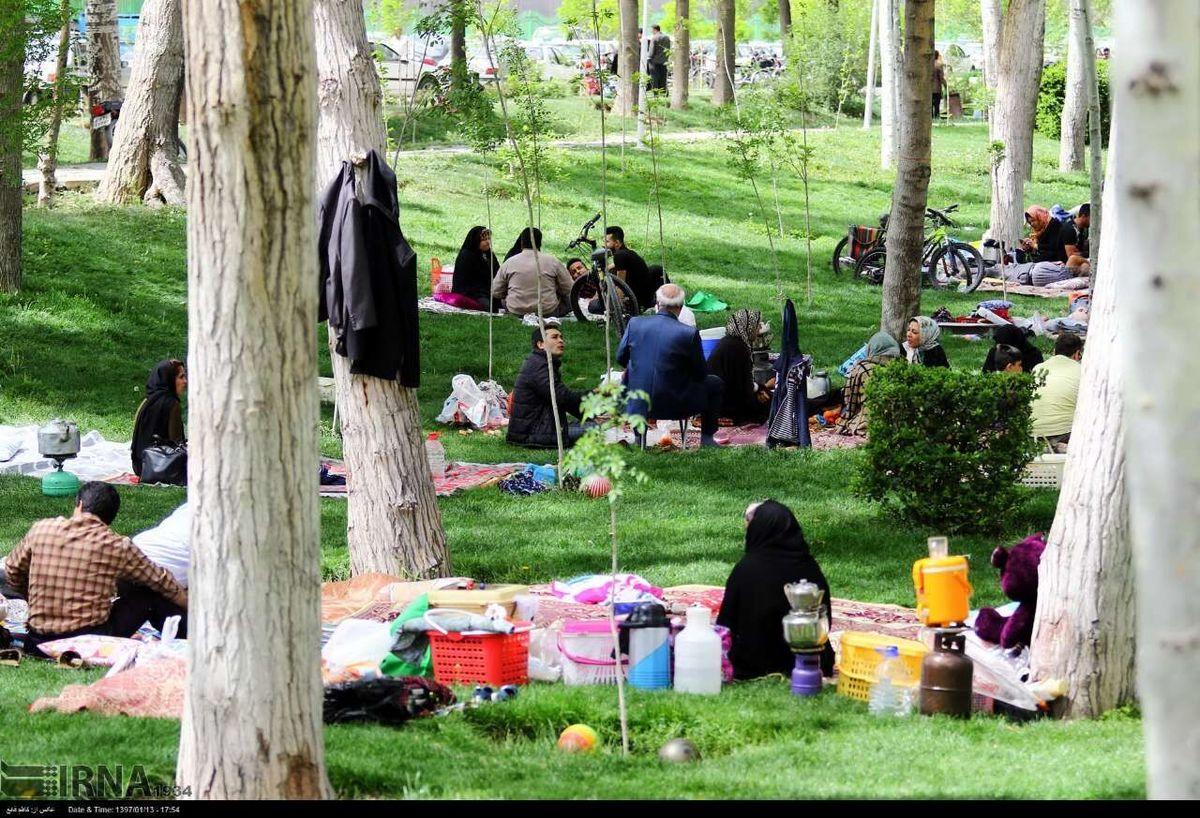 ممنوعیتهای روز طبیعت در تهران