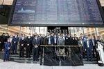 عکس یادگاری نمایندگان مجلس با بورس